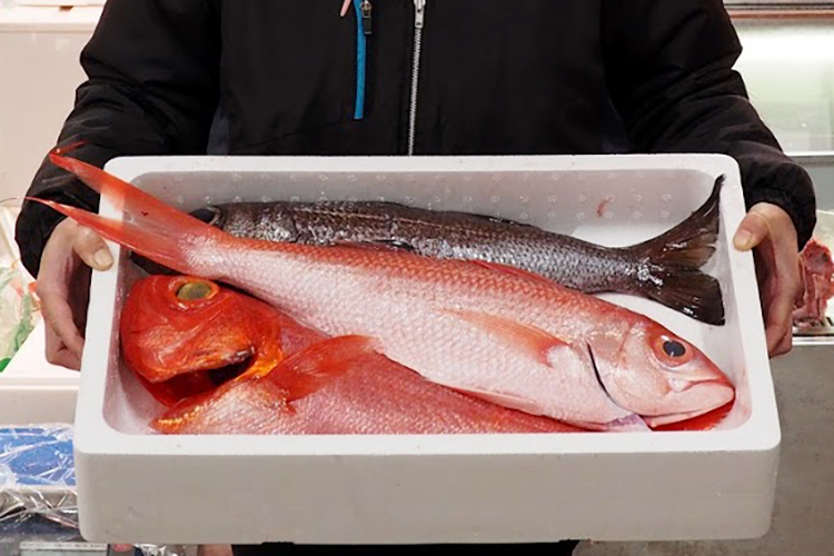 The fresh fish that meet the customer's demands