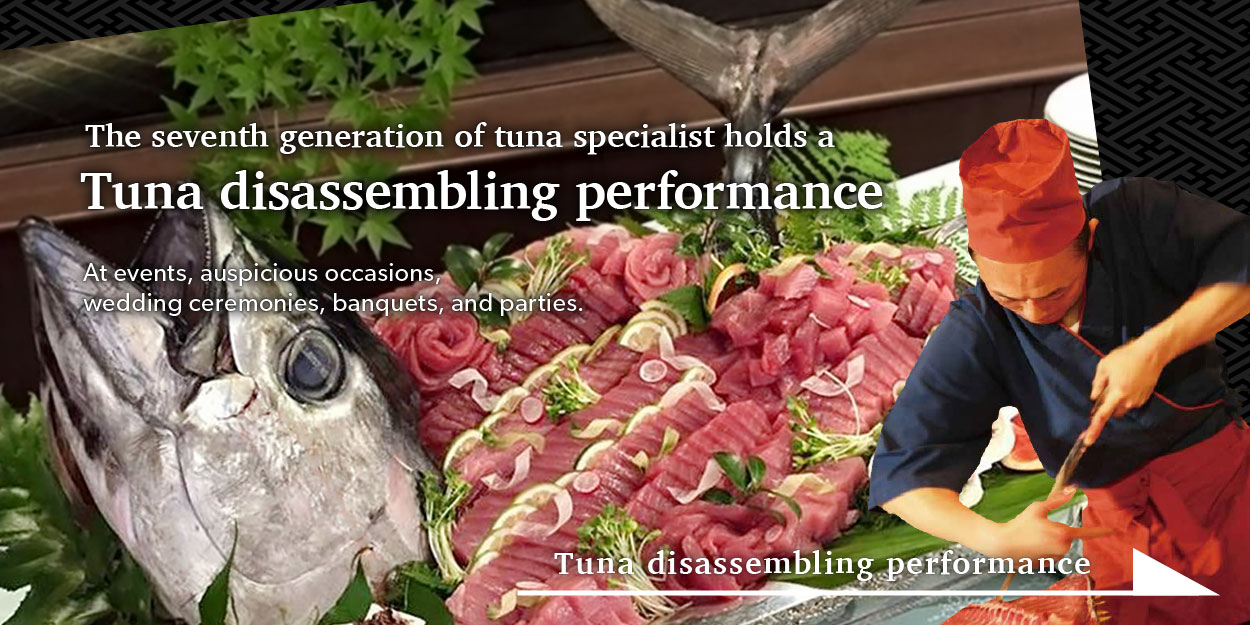Tuna disassembling performance